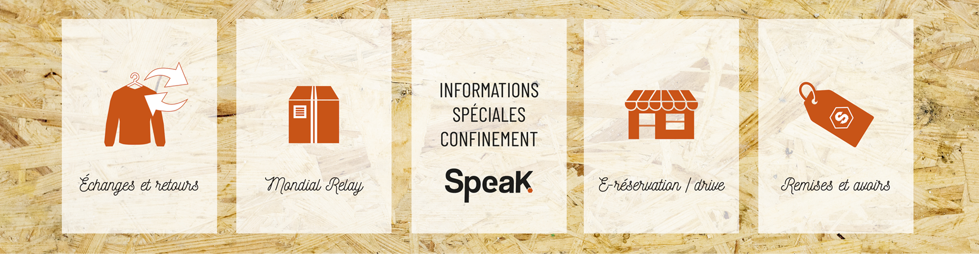 SPEAK - Information confinement